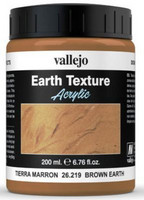 Brown Earth  Texture Paint 200ml