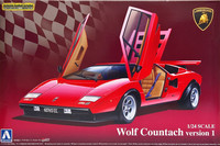 Lamborghini Countach (Wolf version 1) 1:24
