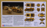 Kettenkraftrad with Infantry Cart Goliath Demolition Vehicle 1:48