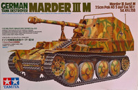German Tank Destroyer Marder III M, 1:35