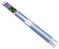 Plastic Beams 3mm H-Shaped (white) 5kpl x 40cm
