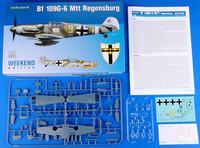 Bf 109G-6 Mtt Regensburg 1:48 (pidemmällä toimitusajalla)