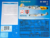 Bf 109F-2, 1:48