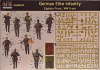 German Elite Infantry Eastern Front WWII 1:35