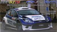Ford Fiesta S2000 (Hirvonen, Monte-Carlo '10) 1:24 (pidemmällä toimitusajalla)