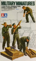 German Tank Ammo Loading Crew 1:35