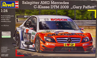AMG Mercedes DTM 2009 (Gary Paffett) + Shunko decals (Deutsche Post) 1:24