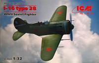 I-16 Type 28, 1:32 (pidemmällä toimitusajalla)