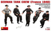 German Tank Crew (France 1940) 1:35 (pidemmällä toimitusajalla)