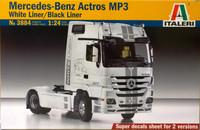 Mercedes-Benz Actros MP3, 1:24 (pidemmällä toimitusajalla)