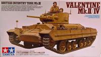 British Infantry Tank Mk.III Valentine Mk.II/IV 1:35 (pidemmällä toimitusajalla)