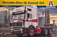 Mercedes-Benz SK Eurocab  6x4, 1:24 (pidemmällä toimitusajalla)