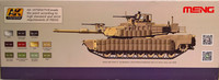 U.S. Main Battle Tank M1A2 SEP Abrams Tusk I  Tusk II, 1:35