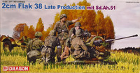 2cm Flak38 Late Production with Sd.Ah.51, 1:35