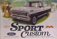 Ford Pickup Sport Custom '72, 1:25