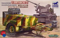 German Sd.Ah.52 37mm Flak 36/37 Ammunition Carriage Trailer 1:35