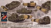 Churchill Mk.IV with Carpet Layer type B) Twin Bobbins 1:35
