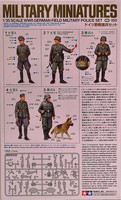 WWII German Field Military Police Set 1:35