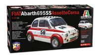 Fiat Abarth 695 SS Assetto Corsa, 1:12 (pidemmällä toimitusajalla)