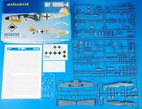 Bf 109G-4, 1:48 (pidemmällä toimitusajalla)
