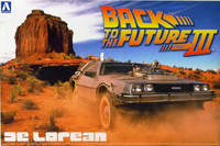 Back To The Future Part III De Lorean 1:24