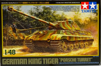 German King Tiger Porsche Turret 1:48