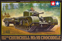 British Tank Churchill Mk.VII Crocodile 1:48