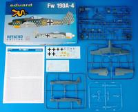 FW 190A-4, 1:48 (pidemmällä toimitusajalla)