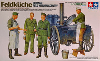 Feldkuche (German Field Kitchen Scenery) 1:35