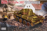 Pz.Kpfw.38D mit Pz.IV Turm 8cm PAW 600, 1:35