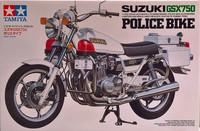 Suzuki GSX750 Police Bike, 1:12 (pidemmällä toimitusajalla)