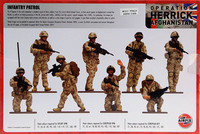 British Forces Infantry Patrol 1:48