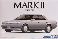 Toyota Mark II '88, 1:24