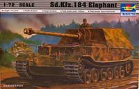 Sd.Kfz.184 Elephant 1:72 (pidemmällä toimitusajalla)