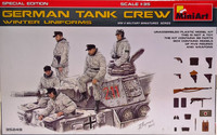 German Tank Crew (winter uniforms) 1:35
