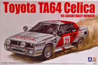 Toyota Celica TA64 '85 Safari Rally, 1:24