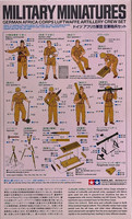 German Afrika Corps Luftwaffe Artillery Crew Set 1:35