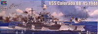USS Colorado BB-45 1944, 1:700