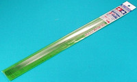 Plastic Beams 3mm Round (clear, soft) 5kpl x 40cm