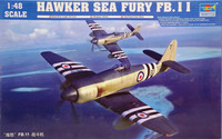 Hawker Sea Fury FB.11, 1:48