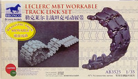 Leclerc MBT Workable Track Link Set, 1:35