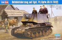 Befehlsfahrzeug auf Fgst. Pz.Kpfw.35 R 731 (f), 1:35