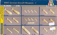 WWII German Aircraft Weapons, 1:72