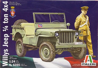 Willys Jeep, 1:24