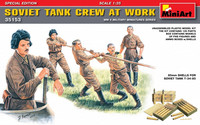 Soviet Tank Crew At Work (special edition), 1:35