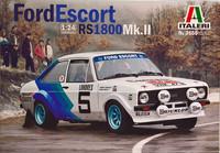 Ford Escort RS1800 Mk.II, 1:24 (pidemmällä toimitusajalla)