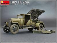 BM-8-24 Based On 1,5t Truck, 1:35 (pidemmällä toimitusajalla)