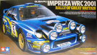 Subaru Impreza WRC 2001 Rally of Great Britain, 1:24
