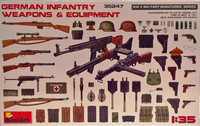 German Infantry Weapons & Equipment, 1:35