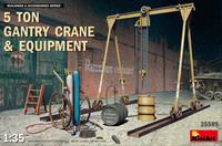 5 ton Gantry Crane & Equipment, 1:35